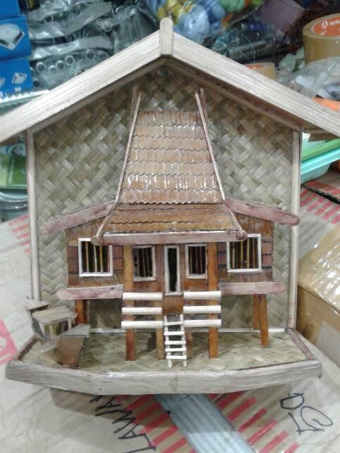Gambar Rumah Adat Kalimantan Selatan : gambar, rumah, kalimantan, selatan, Rumah, Idaman:, Banjar, Kalimantan, Selatan