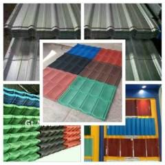 Harga Atap Baja Ringan Lapis Pasir Jual Spandek Genteng Metal Colour Lengkp Kab Bogor