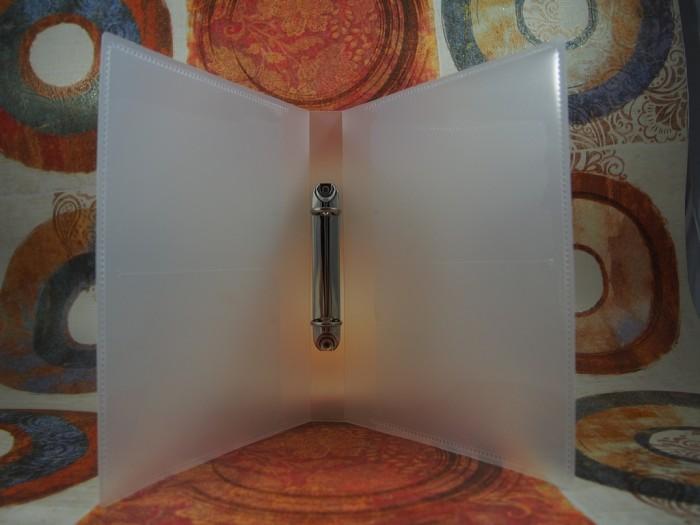 Binder Plastik untuk DIY Blog Planner Kit