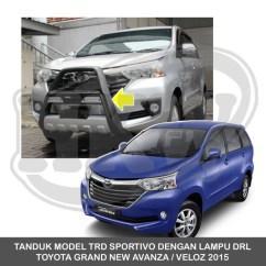 Tanduk Depan Grand New Veloz Ulasan Jual Avanza Model Trd Sportivo Dengan Drl