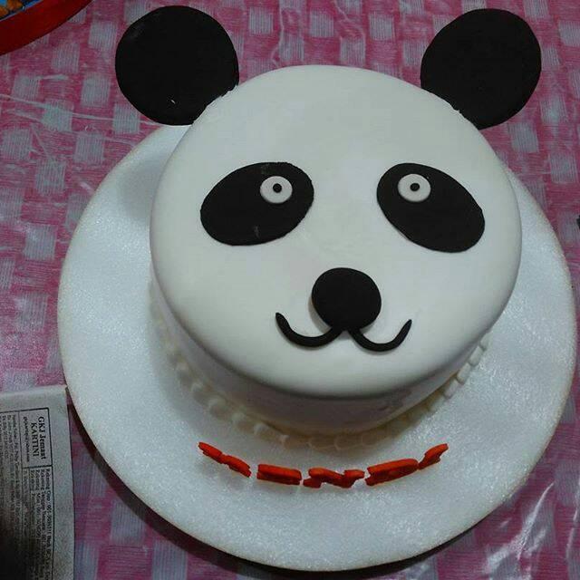 Jual Panda Birthday Cakes Dki Jakarta San Cake Jakarta Tokopedia