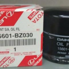 Rekomendasi Oli Grand New Avanza Reflektor Jual Oil Filter Saringan Original Agya Ayla Calya