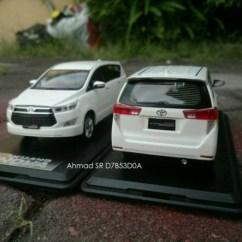 Foto Mobil All New Kijang Innova Grand Avanza Type E 2016 Jual Diecast Miniatur Toyota Reborn Putih