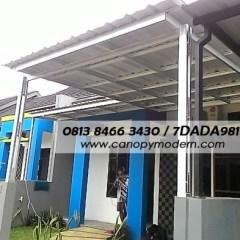 Pasang Canopy Baja Ringan Depok Jual Kanopi Atap Spandek Cibubur Bogor