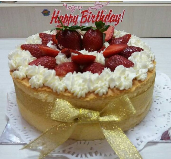 Jual Cheese Cake Birthday Cake 7uni Cake Shop Tokopedia