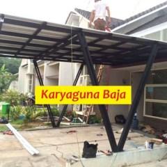 Kanopi Baja Ringan Bogor Kota Jawa Barat Jual Canopi Atap Spandek Parung Panjang