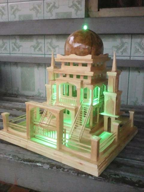 Miniatur Masjid Dari Styrofoam : miniatur, masjid, styrofoam, Paling, Keren, Gambar, Sketsa, Miniatur, Mesjid