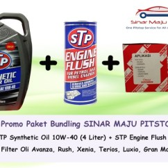 Rekomendasi Oli Grand New Avanza Harga Toyota Veloz Jual Paket Ganti Stp 10w 40 Filter Engine Flush
