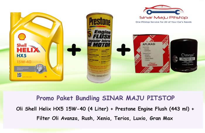 rekomendasi oli grand new avanza 2017 price in bangladesh jual paket ganti toyota shell helix hx5 filter flush