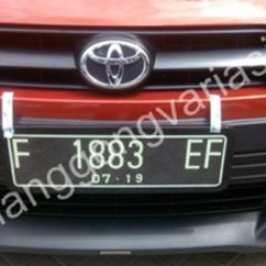 New Yaris Trd 2017 Brand Toyota Alphard For Sale Jual Cover Plat Nomor Acrylic Cembung All 2014 2015 2016