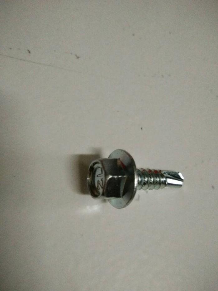 alat baut roofing jual baja ringan 2 cm skrup sekrup screw jakarta