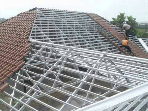 jasa pasang baja ringan karawang jual rangka atap bandung cimahi kota
