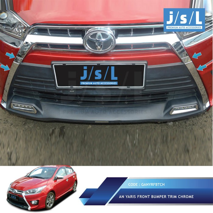 all new yaris trd grand avanza type e jual list bumper depan 4 pcs kent