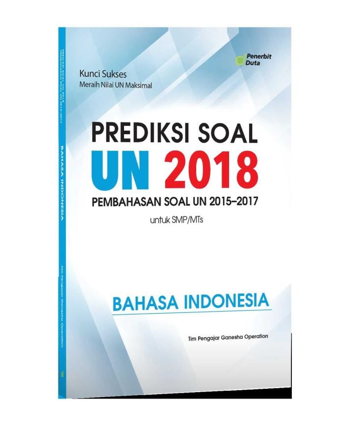 Prediksi Un 2018 : prediksi, Prediksi, 2018,, Kumpulan, 2015-17, SMP/MTs, Bahasa, Indonesia, Jakarta, Pusat, Tokopedia