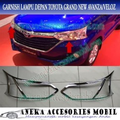 Spare Part Grand New Veloz Avanza G 2018 Jual Paket Garnish Lampu Depan Dan Belakang Toyota Ve