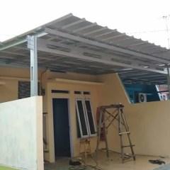 Supplier Baja Ringan Di Makassar Jual Kanopi Bangunan Kota Toko Reklame