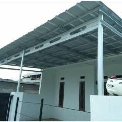 Harga Bahan Baja Ringan Bandung Jual Kanopi Atap Spandek Original Kab