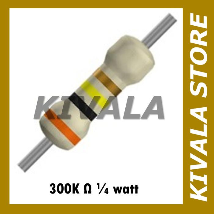 Warna Resistor 300k