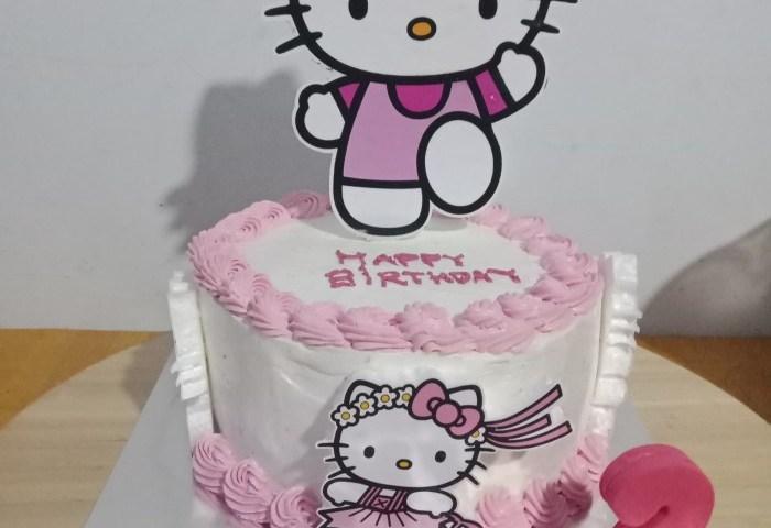 Jual Birthday Cake Tema Hellokitty Kota Bandung Hl Cake And
