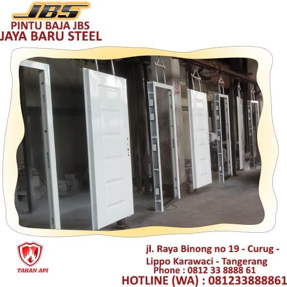 jual baja ringan batam 081233888861 jbs harga pintu plat kusen steel door
