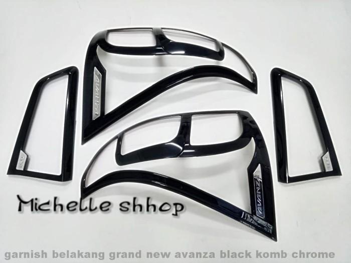grand new avanza black all kijang innova g diesel jual garnish lampu belakang hitam michelle