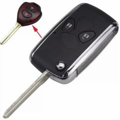 Flip Key Grand New Avanza Fitur Keamanan All Kijang Innova Jual Casing Kunci Lipat Mobil Toyota Veloz