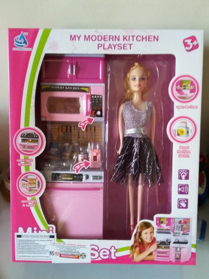Permainan Barbie Memasak : permainan, barbie, memasak, Barbie, Masak, Dapur, Memasak