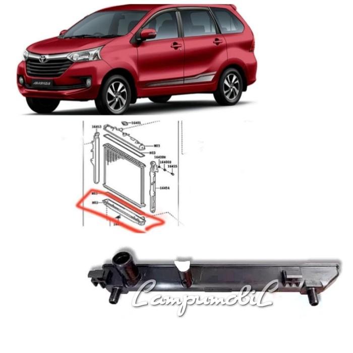 radiator grand new avanza all alphard 2021 jual lower tank bawah toyota 2015 2018