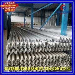 Harga Baja Ringan Cilegon Steel Per Batang Jual Reng 0 45mm X 6m Sni Kab
