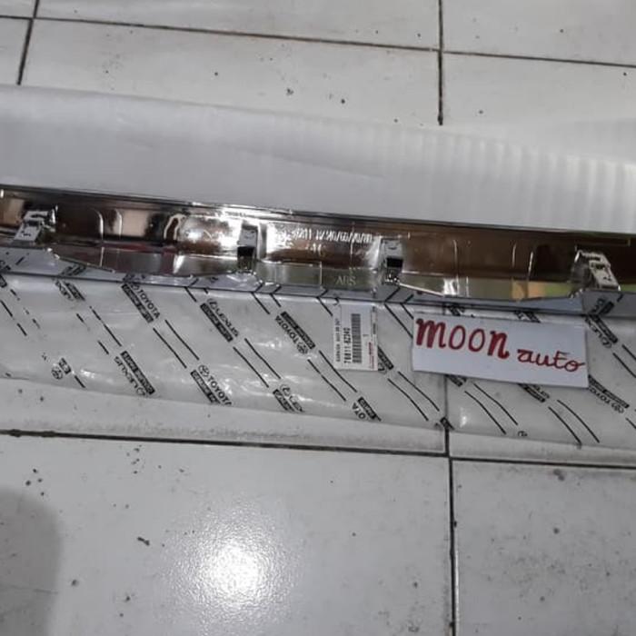 trunk lid grand new avanza toyota yaris trd body kit jual paket reflektor belakang trunklid original