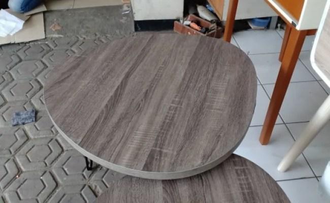 Jual Side Table Meja Tamu Brunela 3 Industrial Bandung