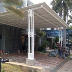 Kanopi Baja Ringan Tanpa Tiang Penyangga Jual Kab Tangerang Jakartabaja Tokopedia