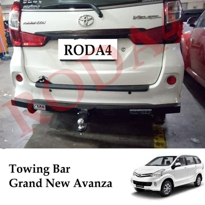 panjang grand new avanza vs jual towing bar besi bumper belakang arb full