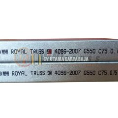 Baja Ringan Merk Agis Jual Wija Truss C75 0 75 Mm Royal Kota Tegal Utama Karya