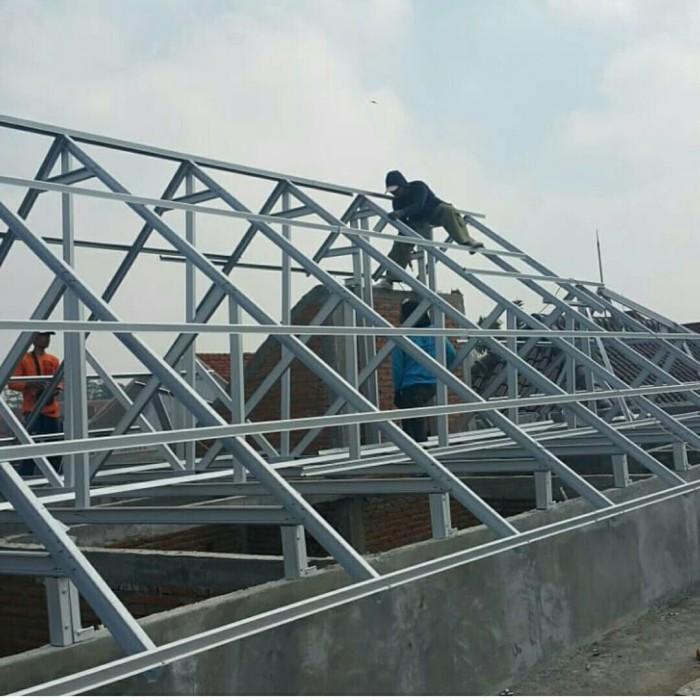 contoh atap baja ringan rumah minimalis jual desain kab bandung