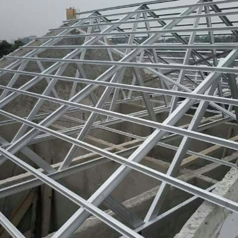 baja ringan rangka gording reng genteng metal bandung jawa barat jual atap jakarta selatan nova truus