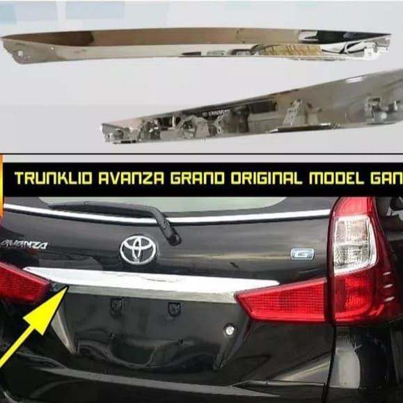trunk lid grand new avanza bbm untuk jual trunklid great xenia model ganti