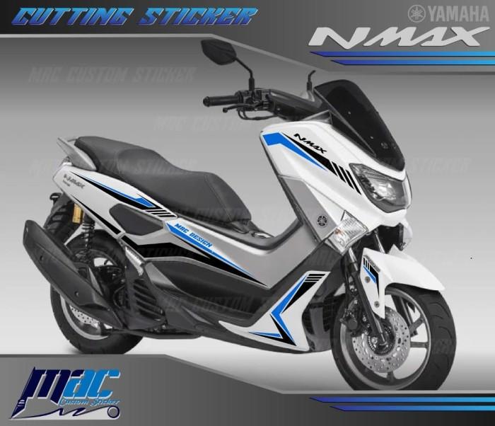 Gambar Stiker Motor Nmax Putih  TulisanViralInfo