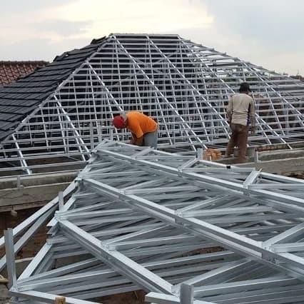 rangka atap baja ringan murah jakarta jual pasang bekasi kota