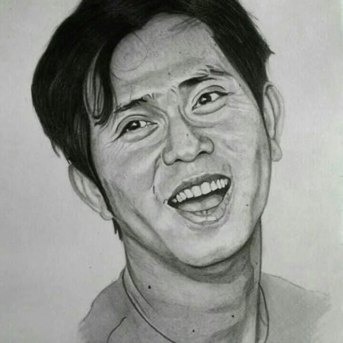 Gambar Lukisan Sketsa Wajah Kado