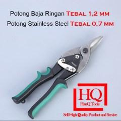 Jual Gunting Baja Ringan Holo Kulit Stainless Steel Karpet Seng