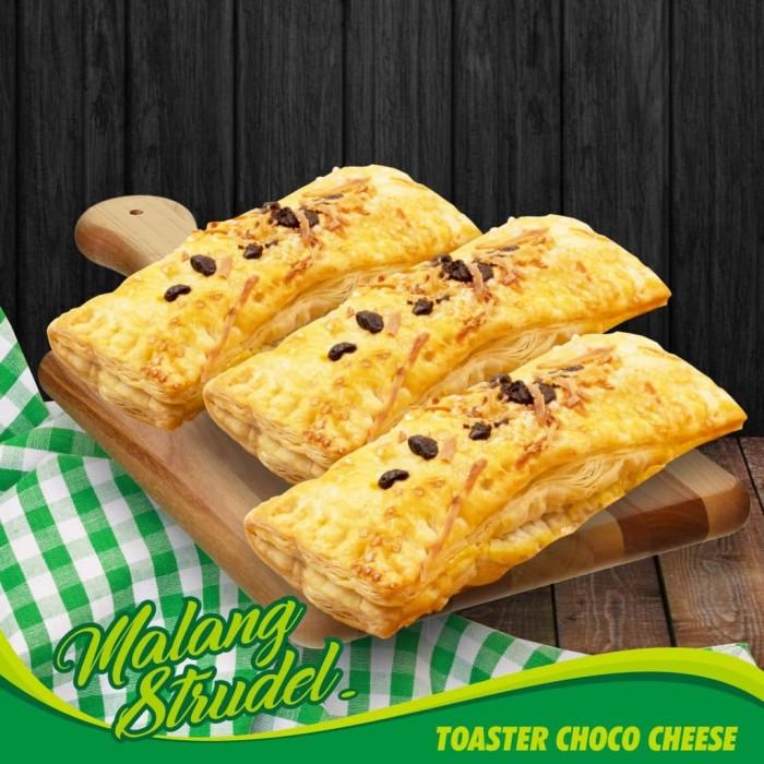 Jual Malang Strudel Toaster Keju Coklat Teuku Wisnu Keju