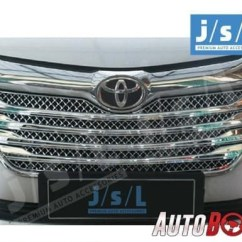 Cover Grill Grand New Avanza Toyota Yaris Trd Merah Jual Jsl Front Grille All Model Bentley