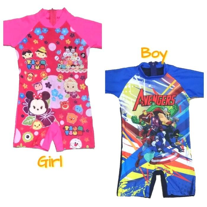Contoh Gambar Mewarnai Gambar Baju Renang Anak Tk ...