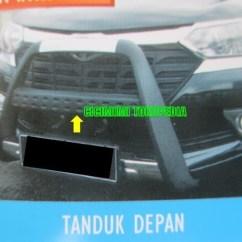 Tanduk Depan Grand New Veloz Toyota Yaris Trd Sportivo Modifikasi Jual Pengaman Bumper Avanza Xenia