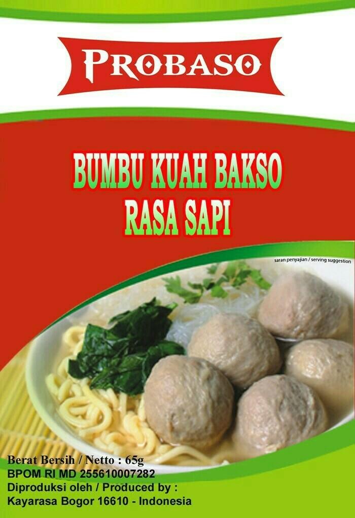 Bumbu Kuah Bakso Solo : bumbu, bakso, Probaso, Bumbu, Bakso, Sidoarjo, Tokopedia