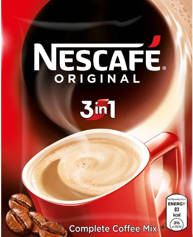 Jual Nescafe Original 3 In 1 Complete Coffee Mix Kota Bandung 3f Retail Tokopedia