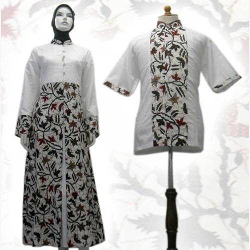 Model Baju Gamis Batik Terbaru Ragam Muslim