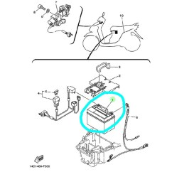 Yamaha Mio Soul Electrical Wiring Diagram Schematics And Diagrams Sporty Pdf Automotive Circuit Jual Accu Aki Original Amora Motor Tokopedia Amore