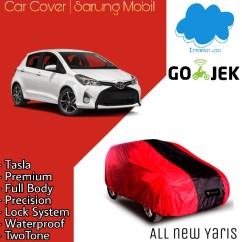 Toyota Yaris Trd Merah Ativ Jual Sarung Mobil Warna All New Body Cover